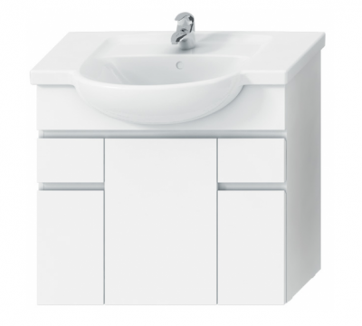 LYRA skrinka pod umývadlo 80 cm, biela