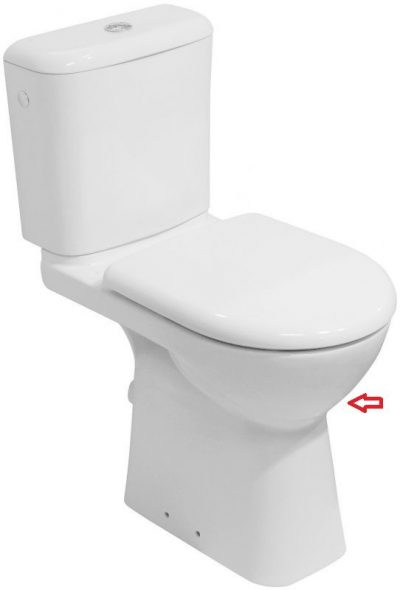 DEEP by JIKA WC zvýšená misa, 46cm