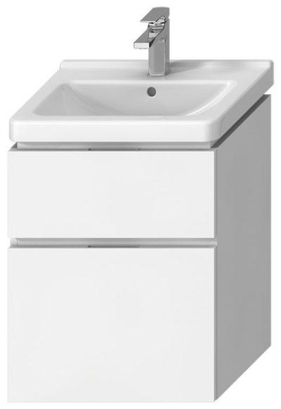CUBITO Skrinka pod umývadlo 55cm,biela