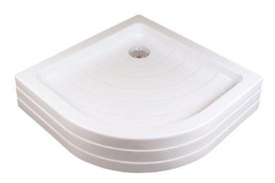 RONDA-90 PU white Sprchová vanička