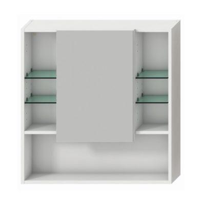 LYRA zrkadlová skrinka 80 cm, biela