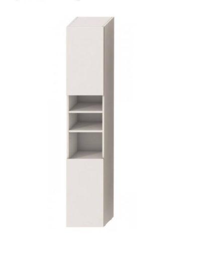 LYRA skrinka vysoká 170 cm ľavá, biela