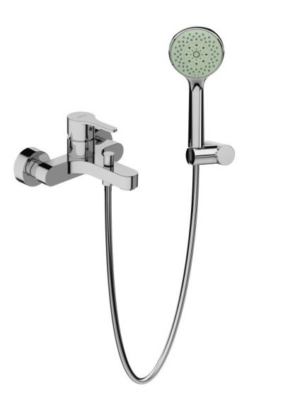 MIO Vaňová nástenná batéria so sprchovou sadou