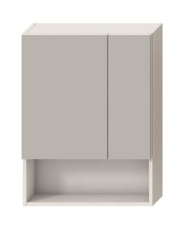 LYRA zrkadlová skrinka 80 x 60cm biela