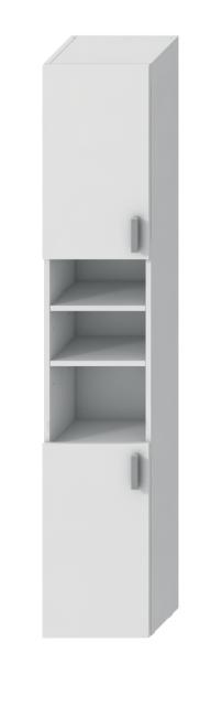 LYRA skrinka vysoká 170 cm, biela