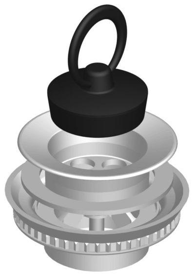 Výpust-odpadový ventil,nerez