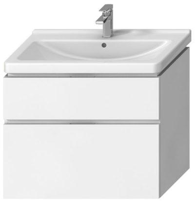 CUBITO Skrinka pod umývadlo 85cm,biela