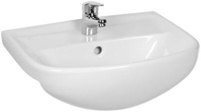 LYRA PLUS umývadlo do nábytku 65cm  biele