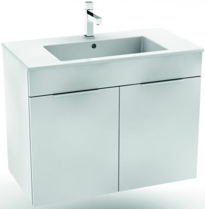 CUBE skrinka s umývadlom 80X43cm biela