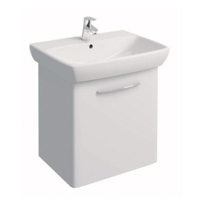 NOVA PRO Skrinka s umývadlom 65 cm, biela