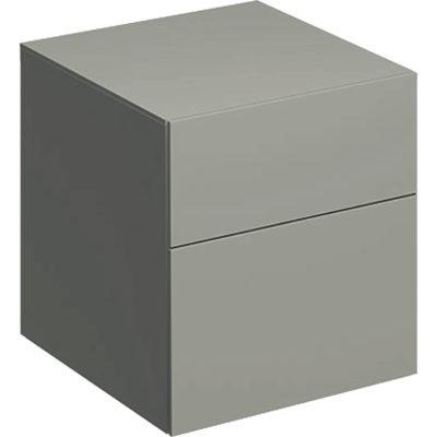 Bočná skrinka Geberit Xeno² s dvomi zásuvkami: B=45cm, H=51cm, 500.504.00.1