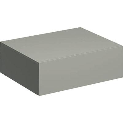 Bočná skrinka Geberit Xeno² s jednou zásuvkou: B=58cm, H=20cm, 500.507.00.1