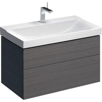 Skrinka Geberit Xeno² pod umývadlo, s dvomi zásuvkami: B=88cm  500.509.43.1