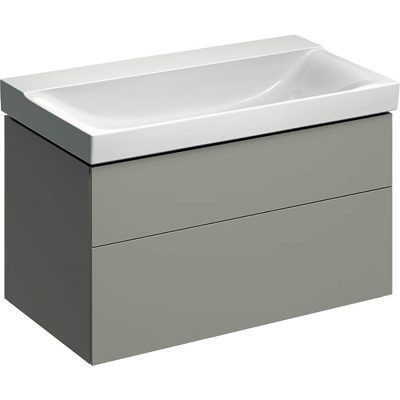 Skrinka Geberit Xeno² pod umývadlo, s dvomi zásuvkami: B=88cm  500.509.00.1