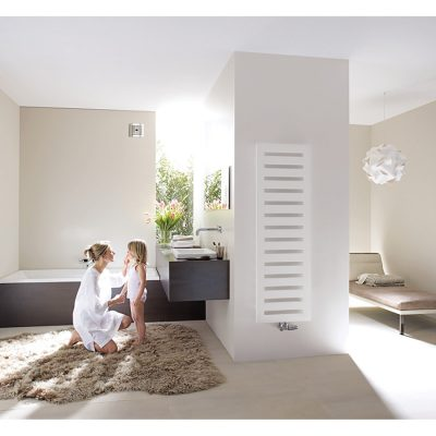 Kúpeľňový radiátor Zehnder METROPOLITAN 1225x500 BIELA