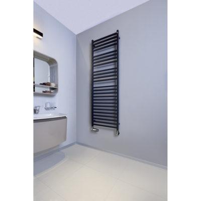 Kúpeľňový radiátor ZEHNDER, VISION 1176x500 ČIERNA MAT