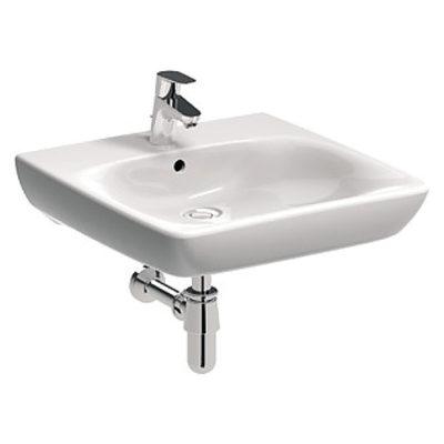 NOVA PRO BEZ BARIÉR umývadlo pre telesne postihnutých 65 x 55 cm, s prepadom