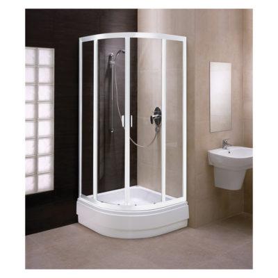 Sprchovací kút štvrťkruhový 80 cm Fresh / BKPG80222001