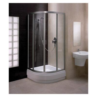 Sprchovací kút štvrťkruhový 80 cm Fresh /  BKPG80211001