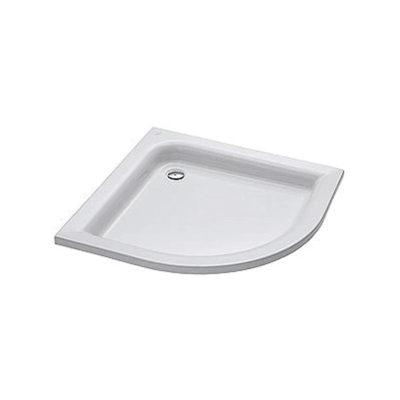 ŠTANDARD PLUS štvrťkruhová sprchovacia vanička  90 x 90 cm