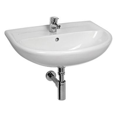 LYRA PLUS umývadlo 55 cm biele