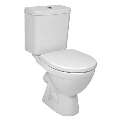 LYRA PLUS kombiklozet - WC kombi s vodorovným odpadom biely  H8263860002413