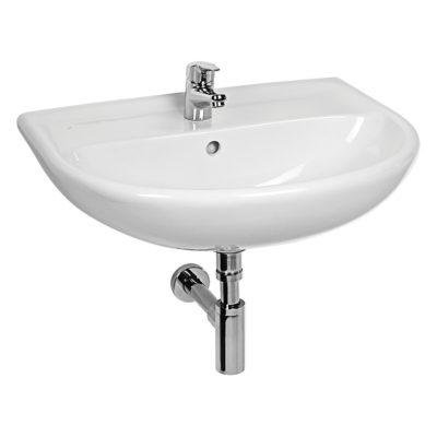 LYRA PLUS umývadlo 55cm  biele bez otvoru