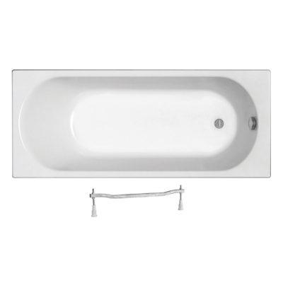 OPAL PLUS pravouhlá vaňa 170 x 70 x 42  cm, objem vody 190 l