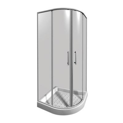 LYRA PLUS sprchový kút 90cm štvrťkruhový H2533820006681