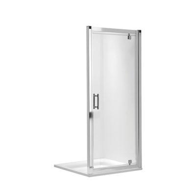 GEO-6 krídlové pivotové dvere 80 cm do niky alebo do kombinácie, PRISMATIC