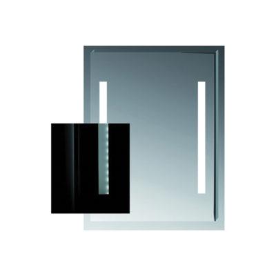 CLEAR zrkadlo  60X81cm