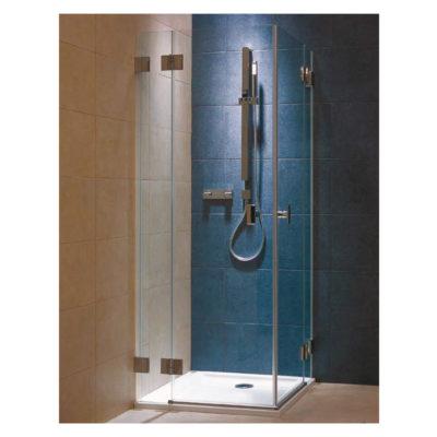 Bočná stena sprchy 90 cm sklo/chróm NIVEN FSKX90222008