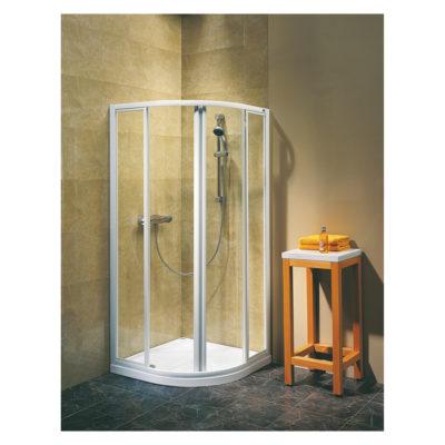 Sprchový kút štvrťkruhový 90 cm Atol Plus EKPG90222000
