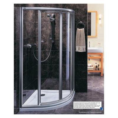 Sprchovací kút 90cm AKORD RKPF90R22005
