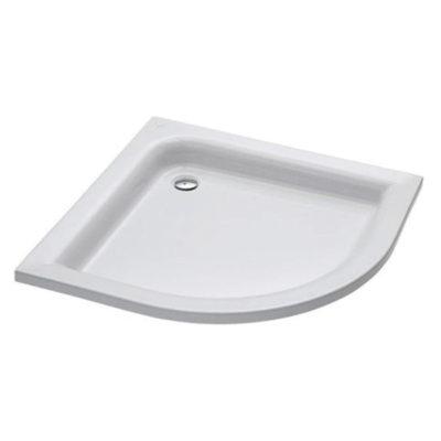 Sprchová vanička štvrťkruhová  80x80 cm ŠTANDARD PLUS XBN0280000