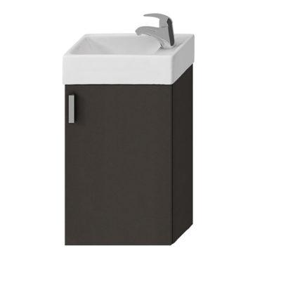 PETIT skrinka s umývadielkom 40cm sivá