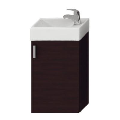 PETIT skrinka s umývadielkom 40cm tmavý dub