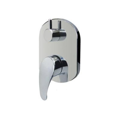 Sprchová batéria podomietková s prepínačom, Mbox, SOLID+