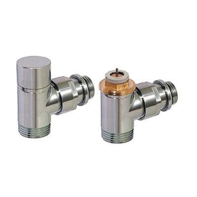 Set-rohový ventil a regulačné šrúbenie chróm D3804-C
