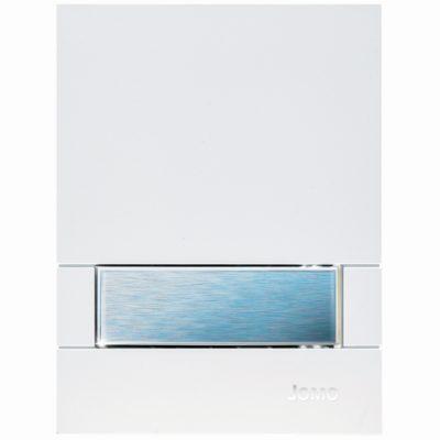 Ovládacie tlačidlo JOMO pre pisoár EXCLUSIVE URINAL URM-K (PLAST) biela/tlačidlo JOMO efekt matný nerezový