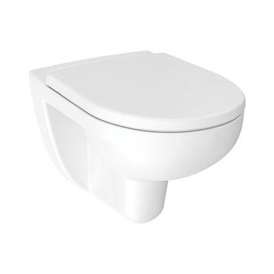 WC závesné  Rimless LYRA PLUS biela, H8213840000001