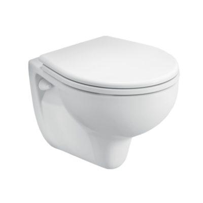 REKORD Závesné WC s hlbokým splachovaním, 6 L, dĺžka len 52 cm  K93100000